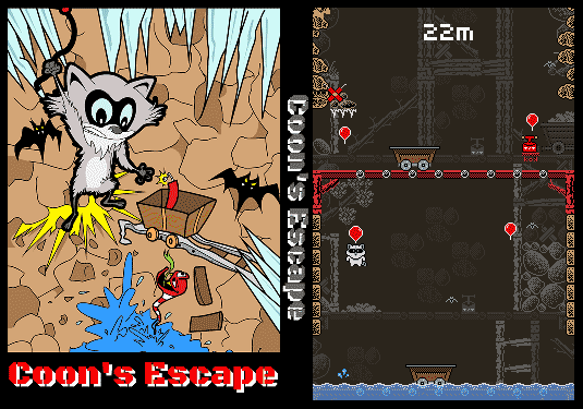 Coon's Escape - Box Art