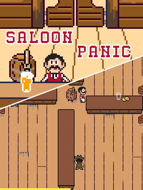 Saloon Panic - Box Art